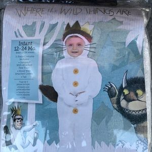 Where The Wild Things Are Max Kids Costume! New!